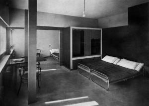 Le Corbusier, Double House, Bedroom, Weissenhofsiedlung, Stuttgart ...