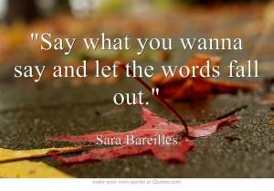 Brave, Sara Bareilles