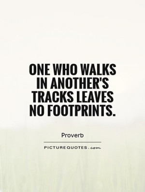 Footprint Quotes And Sayings Footprints Picture Quote