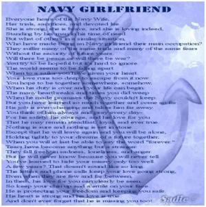 the best navy girlfriend poem