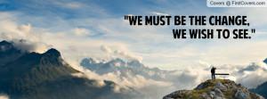 Gandhi Quotes Facebook Cover
