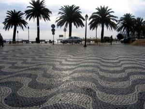 Famous Portuguese cobblestones