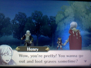Random Stuff of Randomness, Pick up lines with Henry the dark mage.