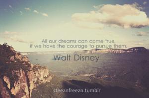 Tumblr Dream Quotes