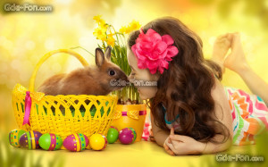 Tlcharger Fond d'ecran heureux, fêtes, printemps, Pâques Fonds d ...
