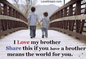 love it i love my brother