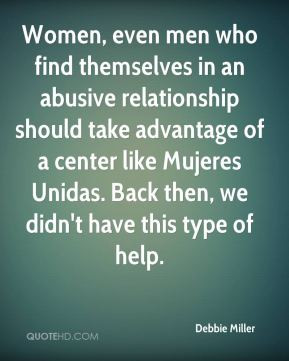Women, even men who find themselves in an abusive relationship should ...
