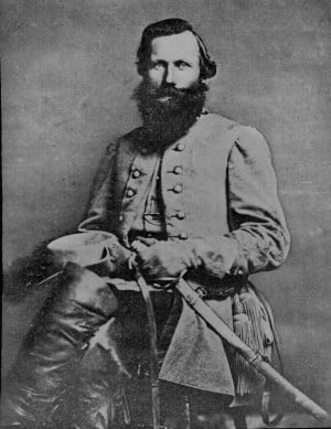 149. Portrait of General James Ewell Brown 'Jeb' Stuart