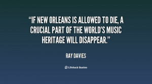 If New Orleans is allowed to die, a crucial part of the world's music ...