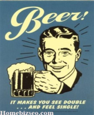 Funny Beer Poster Picture