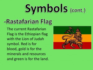 Rastafarian Symbols Their Meanings The current rastafarian flag