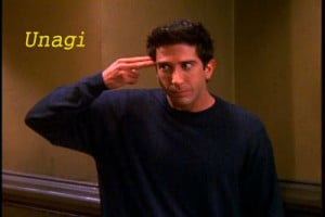 Unagi - Japanese and Ross's version