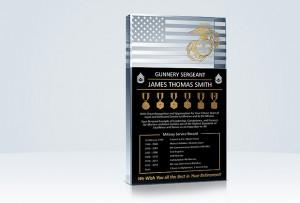 Home » Military Gifts » U.S. Marine Corps » USMC Retirement Plaque