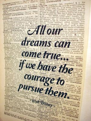 Walt disney inspirational quote | Large Inspirational Walt Disney ...