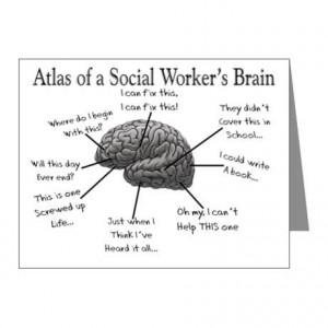 social work brain - OMG. So this is what has happened to my brain in ...