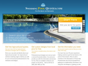 swimming pool quotes free swimming pool quote converts on the