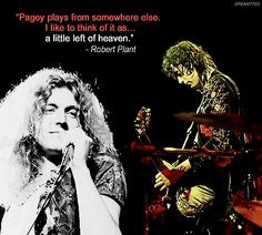 ... custard-pie.com/ Robert Plant quote about Jimmy Page -- Led Zeppelin