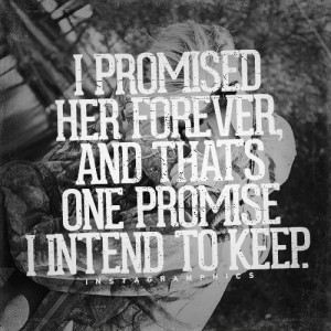 Her Forever Brantley Gilbert Quote graphic from Instagramphics