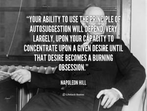 Quote Napoleon Hill...