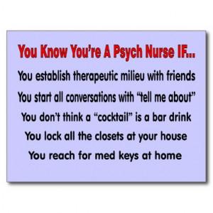 Funny Psych Nurse Quotes Psych nurse