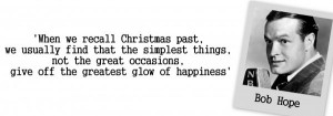 Quote on Christmas by Bob Hope