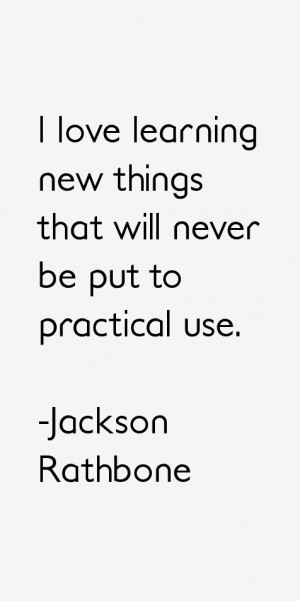 Jackson Rathbone Quotes amp Sayings