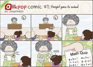 Fangirl Go To School