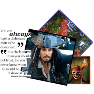 lesson in honesty: captain jack sparrow - Polyvore