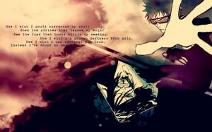bleach kurosaki ichigo quotes anime zangetsu 1680x1050 wallpaper Anime ...