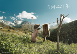 Very Funny And Creative Ads Using Animals (7)