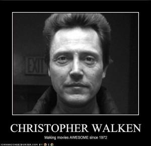 WWCWD: What Would Christopher Walken Do?