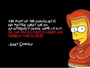 Bart Simpson Quote