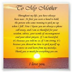 mothers birthday poems from daughter | In praise of mother who helped ...