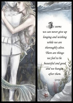 The Little Mermaid Bookmark by Achen089