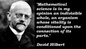 David hilbert famous quotes 4