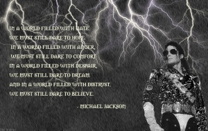 Michael Jackson Quotes and Sayings