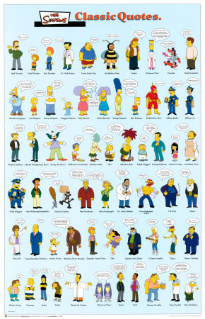 birthday party quotes. The Simpsons- Classic Quotes