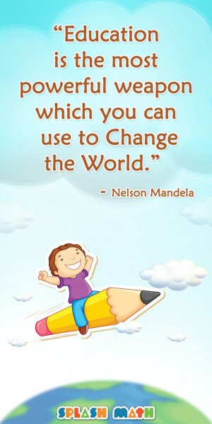 ... which you can use to change the world