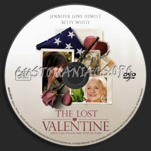 The Lost Valentine dvd label