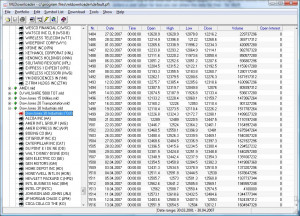 MLDownloader V7.1 - EOD historical stock quotes and FOREX data feed