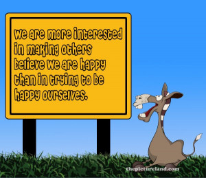 Famous Quotes And Saying Pictures With Funny Cartoon Donkey Images