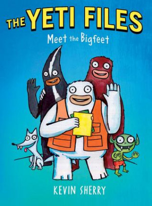 """... by marking """"The Yeti Files #1: Meet the Bigfeet"""" as Want to Read"""