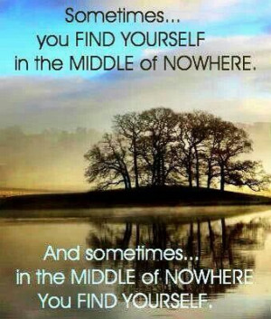 Find yourself quote