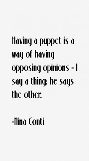 Nina Conti Quotes amp Sayings