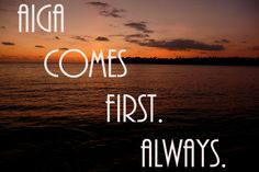 well yeah but God is always 1st :) More
