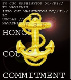 Honor, Courage, and Commitment: The United States Navy