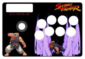 Street Fighter Arcade Stick Artwork Image