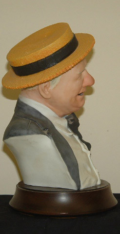 Details about Edward Rohn W.C. FIELDS Bust / 1st Quality / Quite Rare