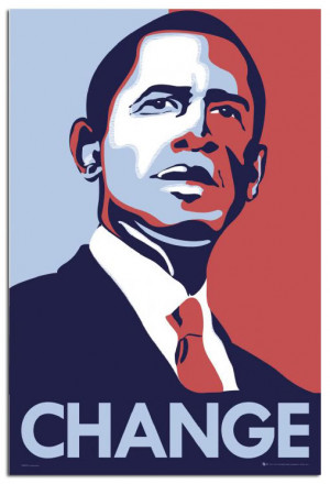 barack obama hope huge poster home icons celebrities barack obama hope ...