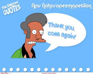 Apu quote